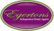 Egertons, Lymm logo