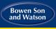 Bowen Son & Watson, Llangollen logo