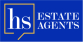 HS Estate Agents, Brentwood logo