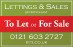 Lettings & Sales Limited, Birmingham logo