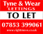Tyne & Wear Lettings, Sunderland logo