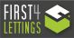 First 4 Lettings, Leicester logo