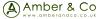 Amber & Co ltd, London logo