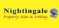 Nightingale Property Sales and Lettings, Weston-Super-Mare logo