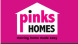 Pinks Homes, Hillsborough logo
