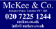 McKee & Co, London logo