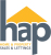 HAP Sales & Lettings, Glasgow logo