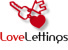 Love Lettings, Corby logo