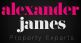 Alexander James Property Experts, Milton Keynes logo