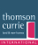 Thomson Currie International, London logo