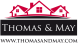 Thomas & May, Kingston logo