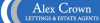 Alex Crown Lettings & Estate Agents, London logo