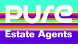 Pure Estate Agents, Worksop, logo