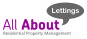 All About Lettings, Gloucester logo