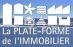 la Plateforme de l'Immobilier, Sainte Maxime logo