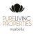 PURE LIVING PROPERTIES, MALAGA logo