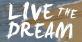 LIVE THE DREAM NOW LLC, Nokomis Beach logo