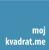 Moj Kvadrat, Budva logo