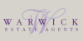 Warwick Estate Agents, London logo