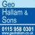 Geo Hallam & Sons, Nottingham logo