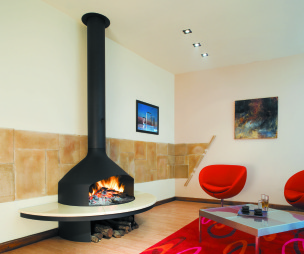 photo of red diligence international focus fire living room lounge with fireplace open fire wood burner and coffee table fender furniture