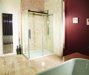 Bathroom design ideas photos inspiration rightmove for Aubergine bathroom ideas