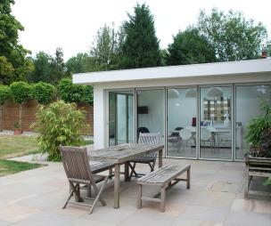 Garden design ideas photos inspiration rightmove home for Backyard patio extension ideas
