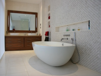 Creative Contemporary Couple  Bathroom Ideas  Tiles Furniture Amp Accessories