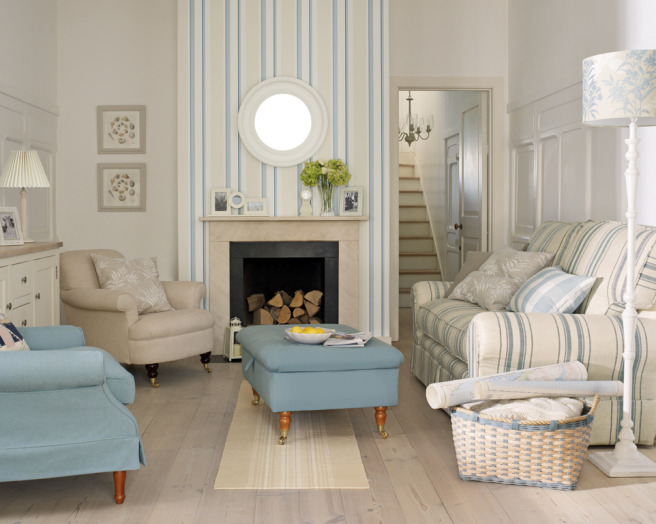 Laura ashley living room design ideas photos - Decoration anglaise salon ...