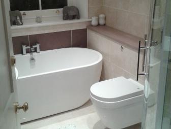 small beige cream white oak dovcor bathrooms bathroom small bathrooms - Small Shower Baths