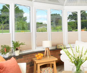photo of beige cream conservatory blinds 2go conservatory with conservatory blinds