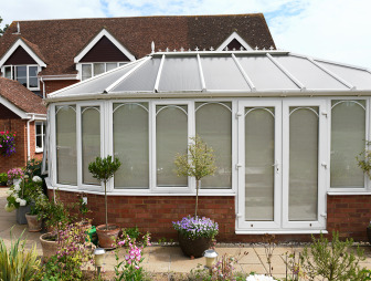 photo of beige cream white conservatory blinds 2go conservatory with conservatory blinds