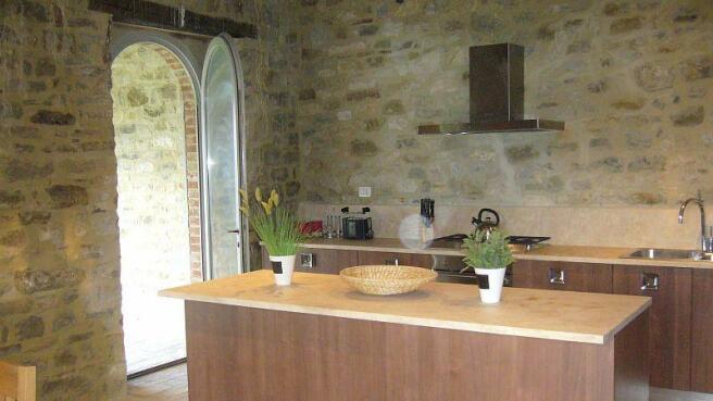 Cervo kitchen