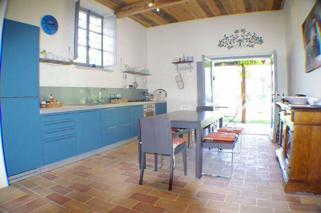 Il Mulino kitchen