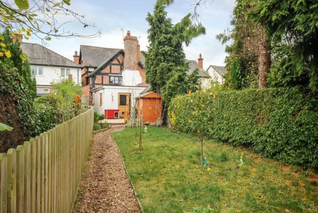 Beautiful Long Garden and rear aspect