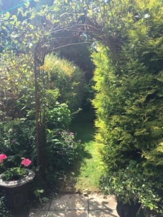 Beautiful Archway in the Garden