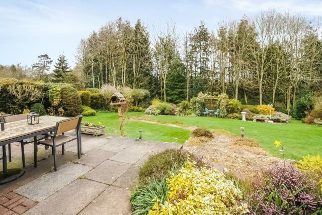 Beautiful private landscaped gardens