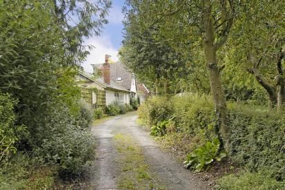 Lane the property is situated upon