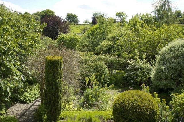 Summer View from Sitting Garden
