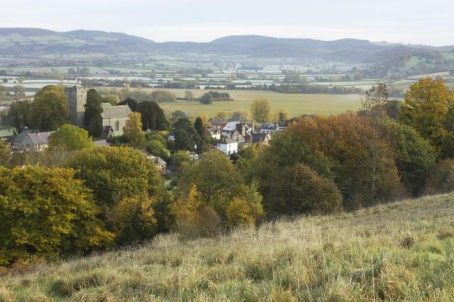View back over Wigmore and property