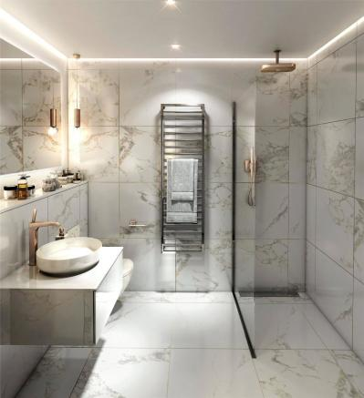 Cool Scheme Bathroom