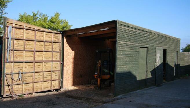 Wooden Hay / Straw Store