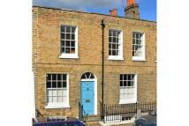 Terraced house in King George Street...