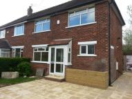 semi detached property for sale in Springfield Road, Gatley...