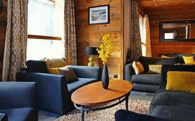 Living area facing