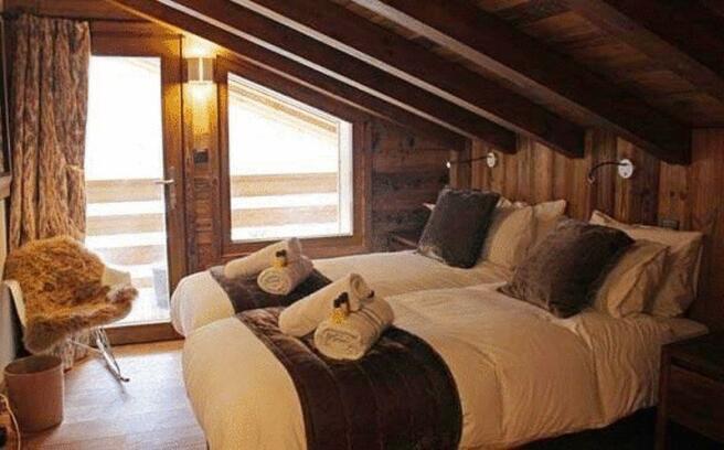 Bedroom under the
