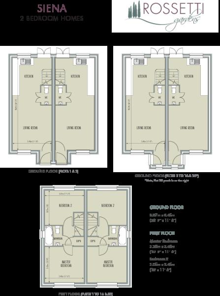 Siena Floor plan