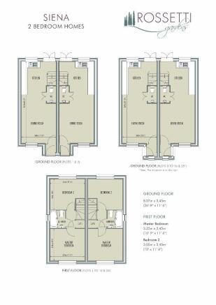Siena Floorplans