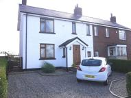 semi detached home for sale in School Lane, Downholland...