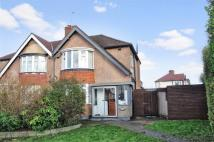 Somervell Road semi detached house for sale